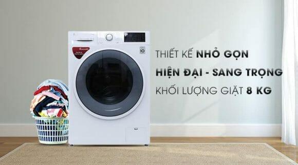 Máy giặt LG nào tốt nhất? Cùng review qua Máy Giặt Cửa Ngang Inverter LG FC1408S4W2 nhé