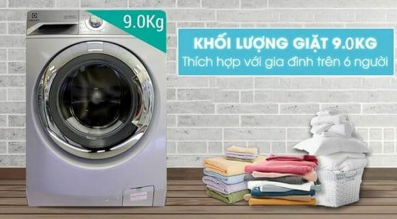 Máy giặt nào tốt nhất của hãng Electrolux, cùng xem thử máy Giặt Cửa Trước Inverter Electrolux EWF12938 (9kg)