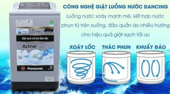 Máy giặt nào tốt nhất? hãy cũng đánh giá sơ về máy giặt Máy giặt Panasonic 9kg NA-F90A4GRV