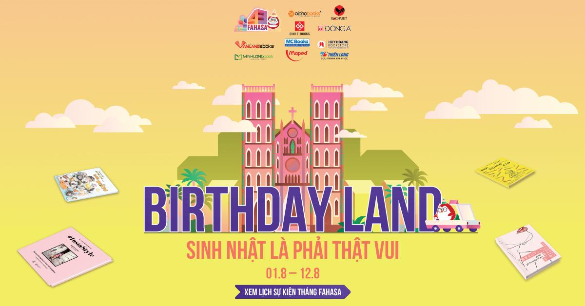 fahasa birthday land