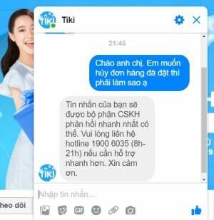 Số tổng đài Tiki và cách liên hệ Tiki