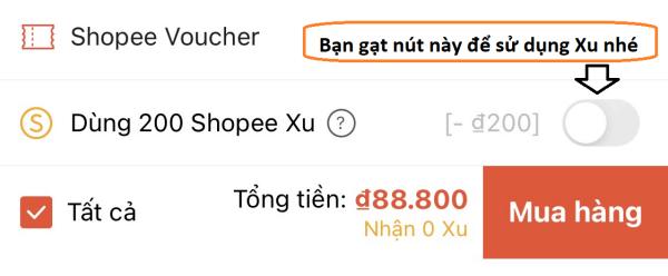 Cách kiếm Shopee Xu
