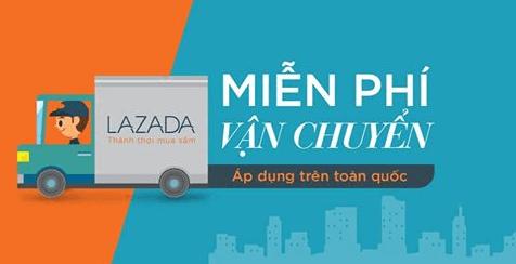 Lazada miễn phí vận chuyển