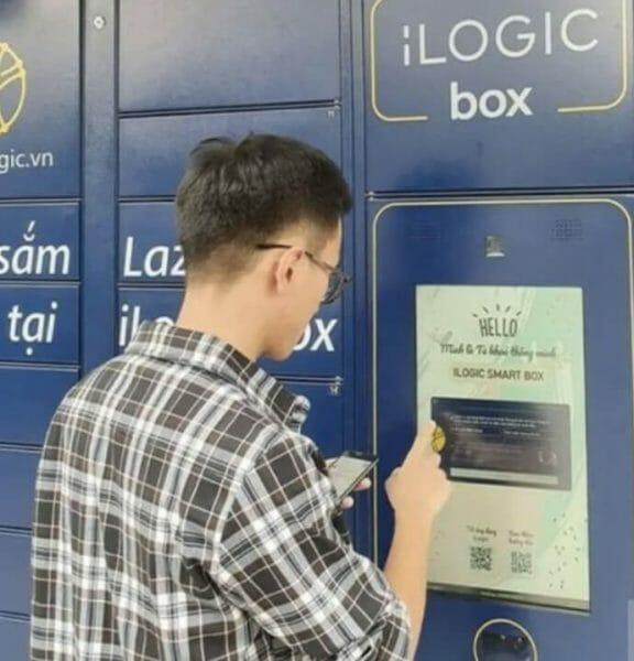 Đến iLogic Smartbox để lấy hàng