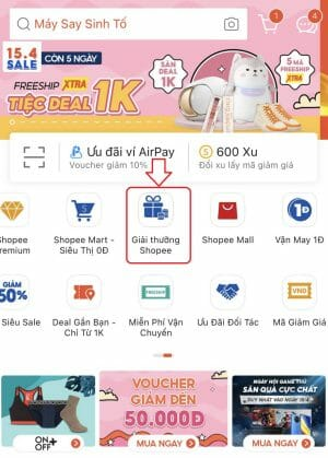 shopee game ở đâu