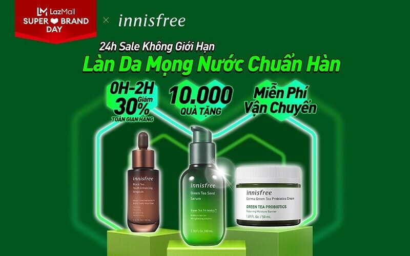 Innisfree sale không giới hạn 26.4