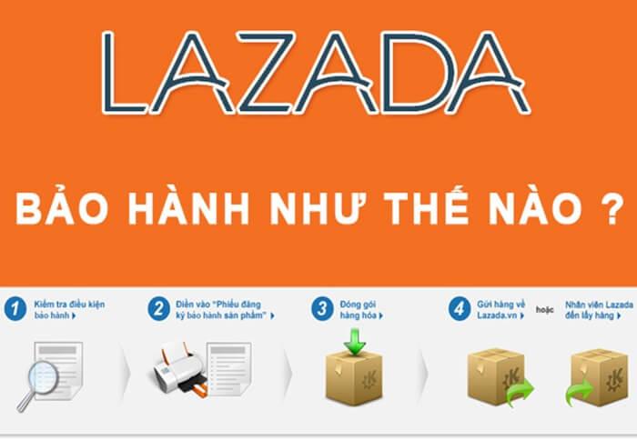 Chính sách bảo hành điện thoại Lazada