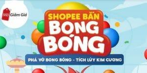 game bắn bong bóng shopee