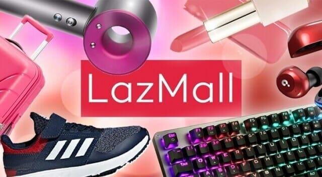 Nên chọn gian hàng Lazmall
