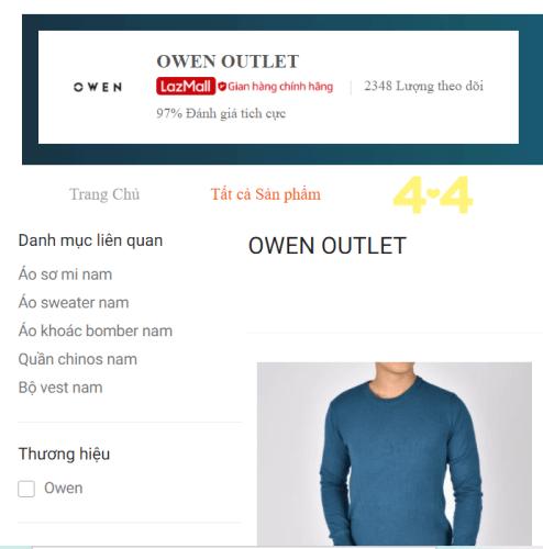Thương hiệu thời trang OWEN