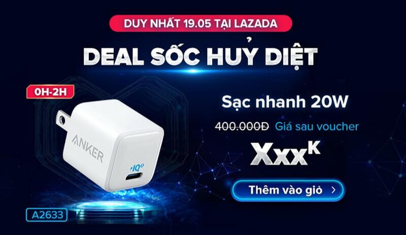 Anker deal sốc 19.5