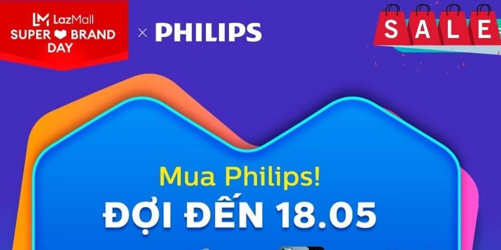 Philips lazada khuyến mãi