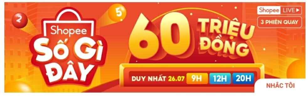 Shopee sale 26.7